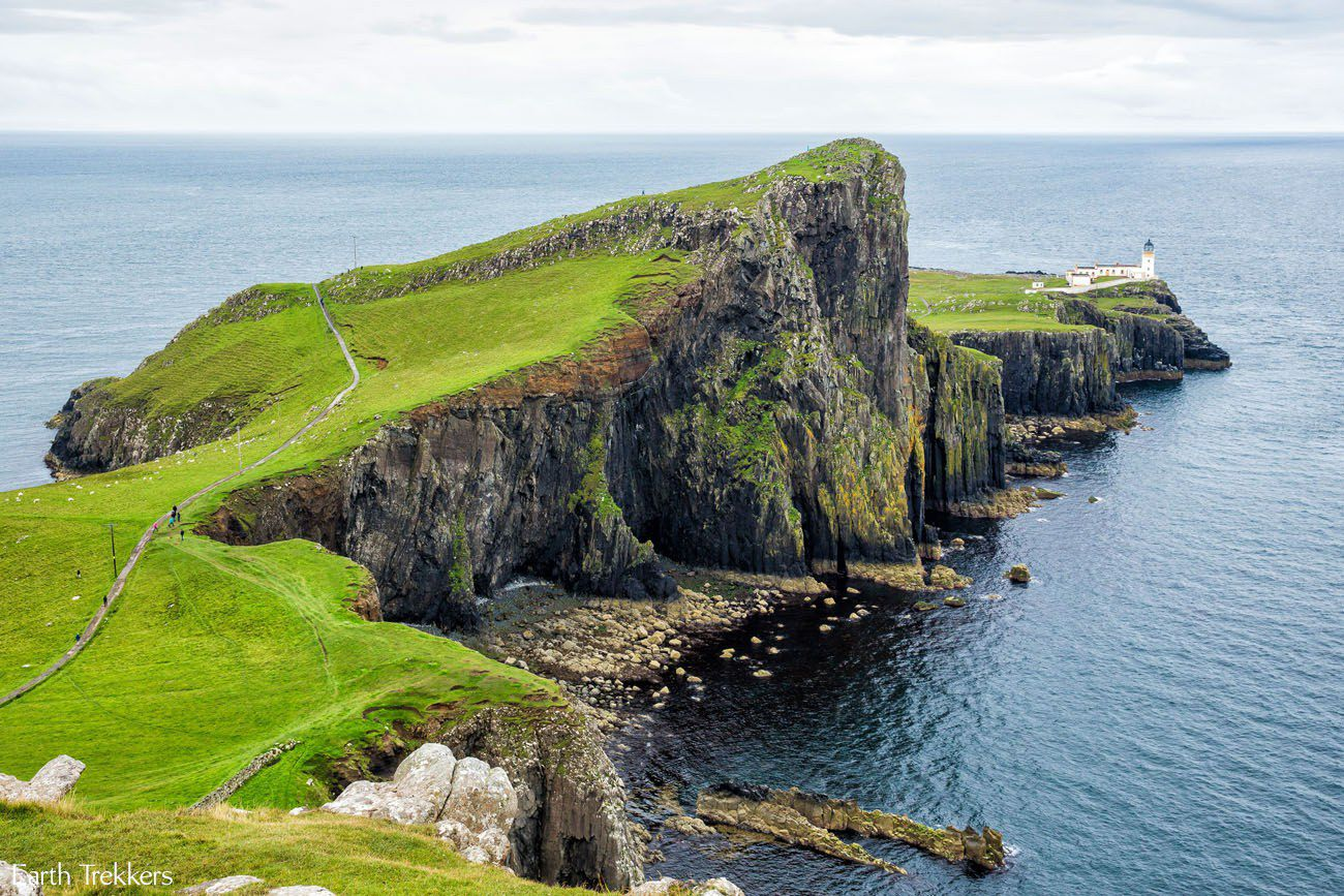 Neist Point Scotland itinerary