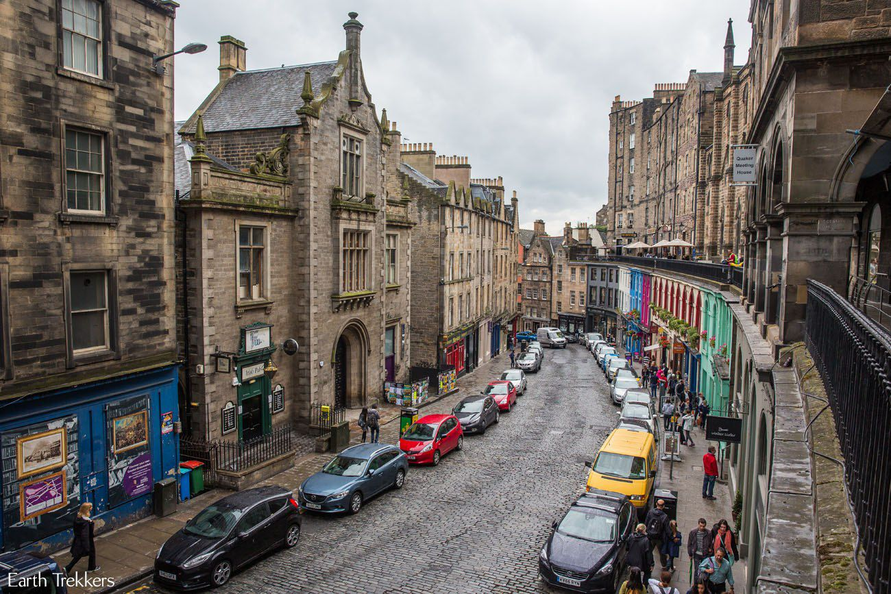 Old Town Edinburgh Scotland itinerary