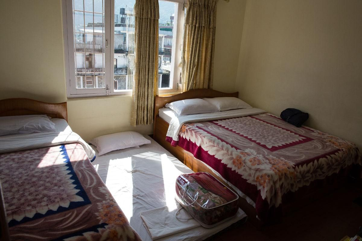 Our room in Nepal