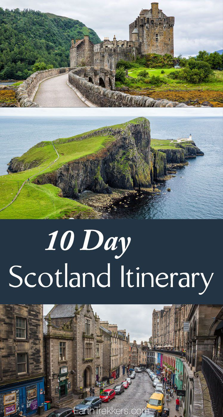 Scotland Itinerary 10 Days