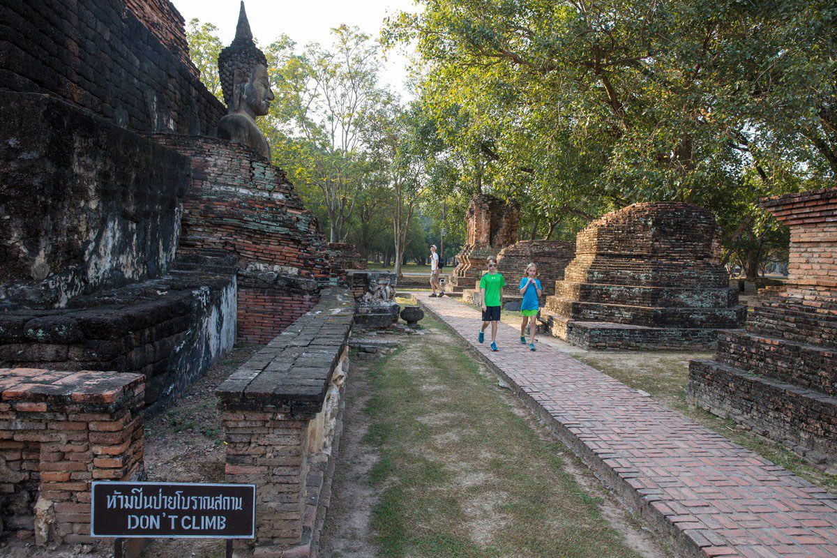 Sukhothai with Kids