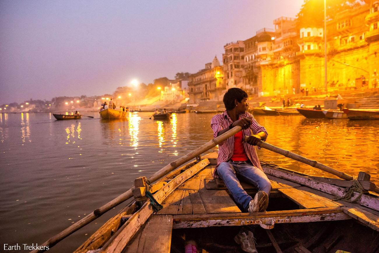 Sunrise Boat Tour in Varanasi