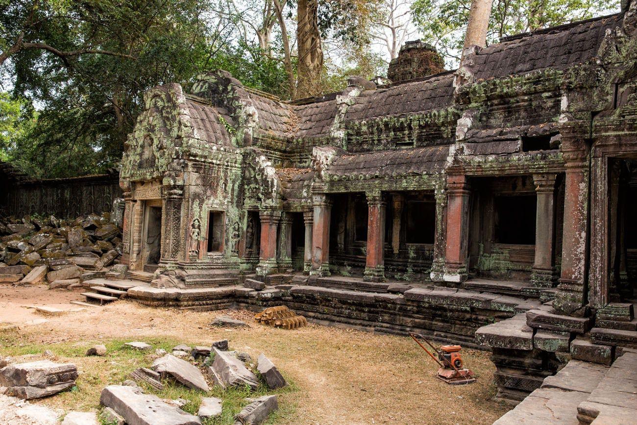 Ta Phrom ruins