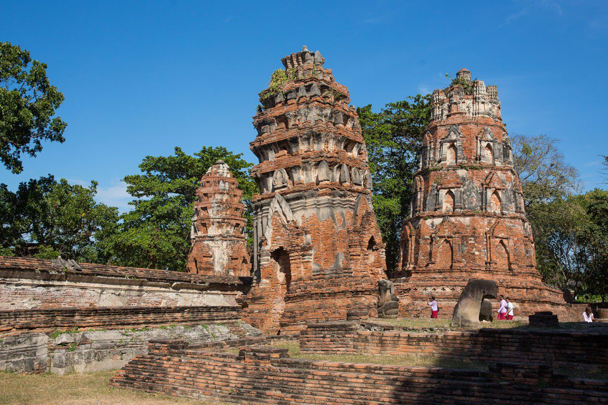 Thailand Ayutthaya Ruins