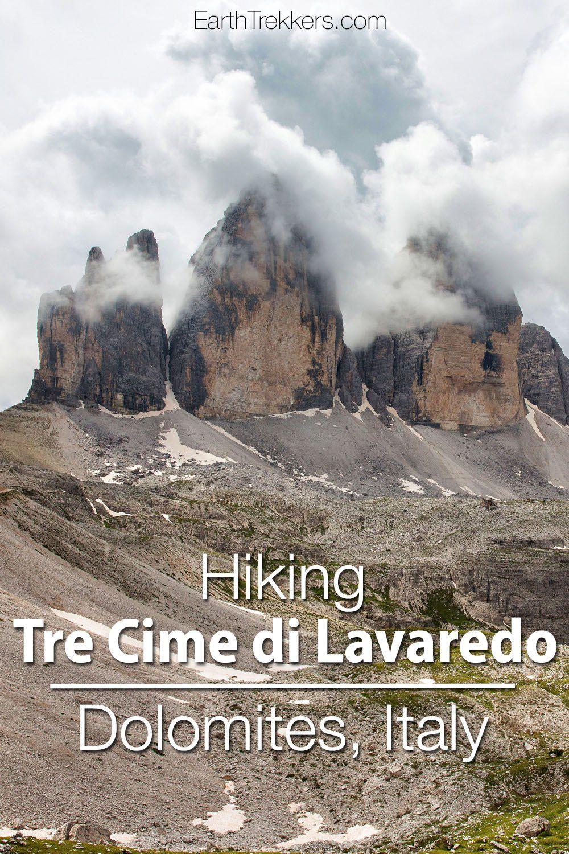 Tre Cime Lavaredo Dolomites Italy