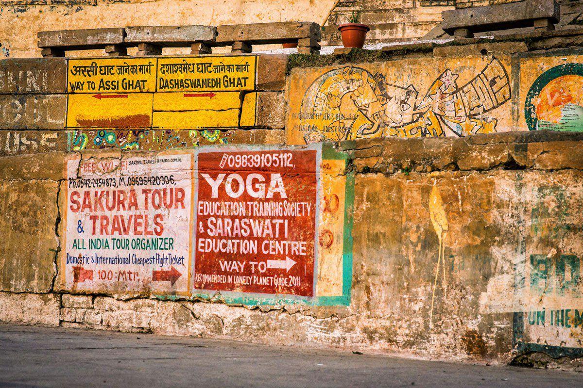 Varanasi Graffiti