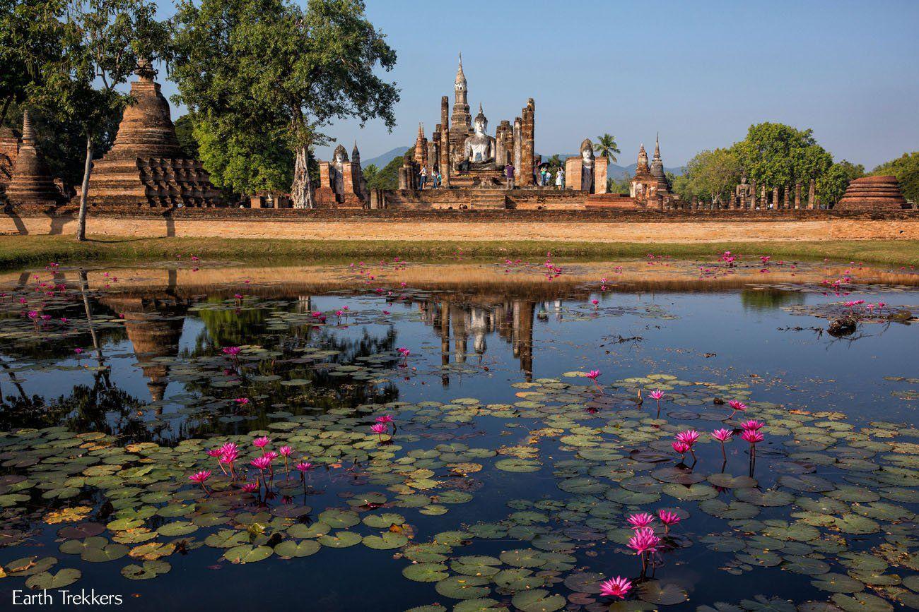 Visiting Sukhothai Thailand