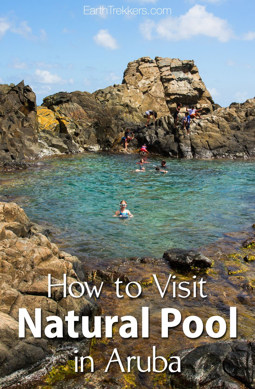 Adventure In Aruba How To Visit Natural Pool Earth Trekkers