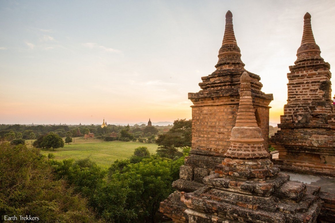 Bagan Sunset Photo