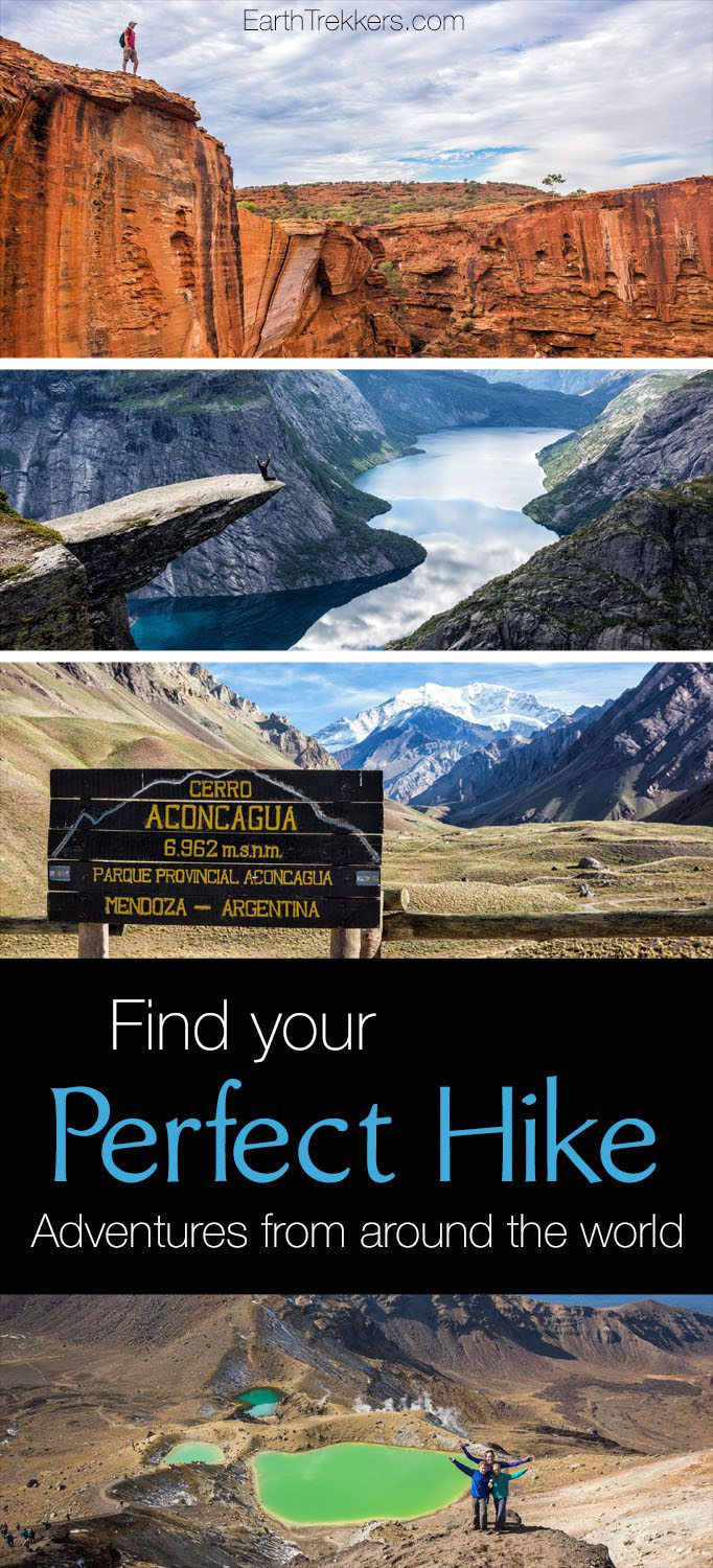 Best hikes from around the world: Single and multi-day hikes from six continents, options for all ages and ability levels.