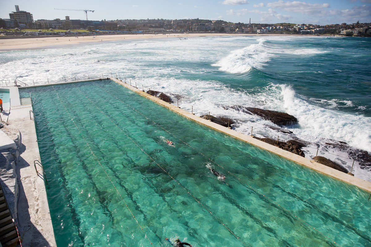 Bondi Beach lap pool