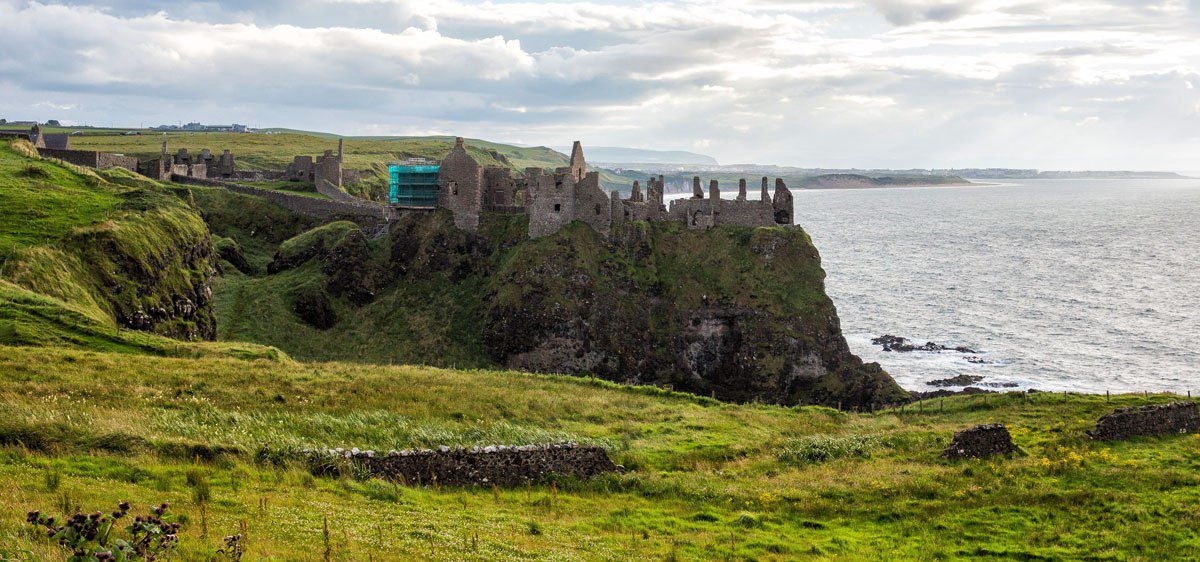 Dunluce Castle 10 day Ireland Itinerary