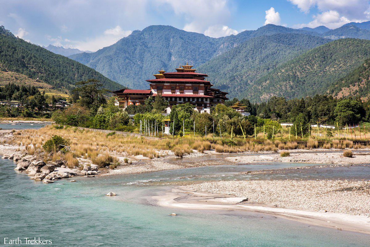 Dzong on the river