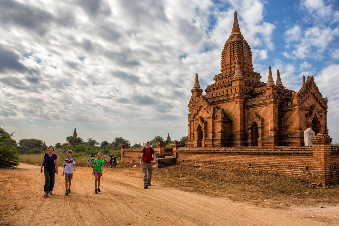 Exploring the Bagan Temples