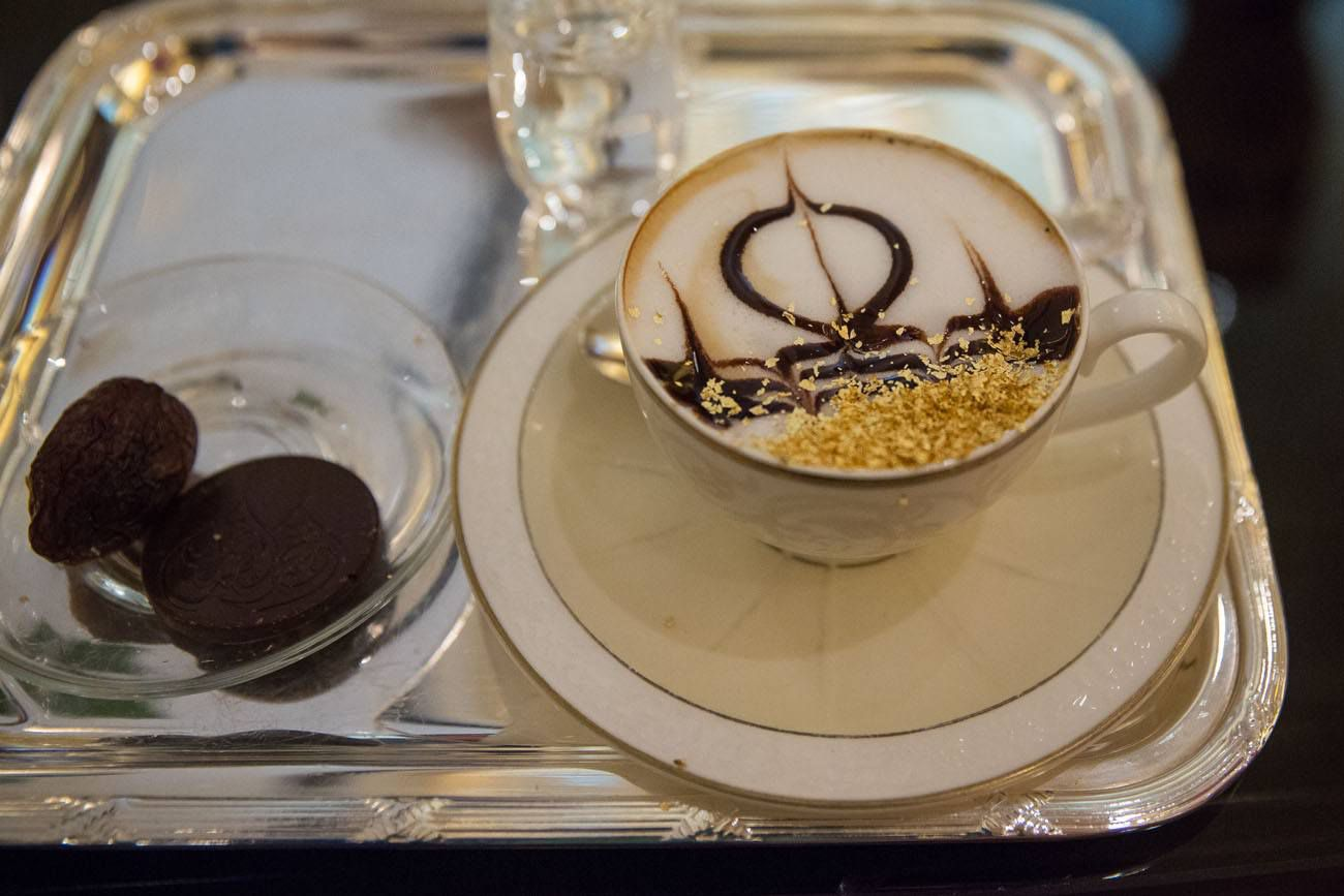 Golden Cappuccino