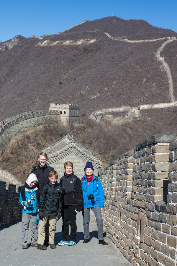 Great Wall of China Family Travel