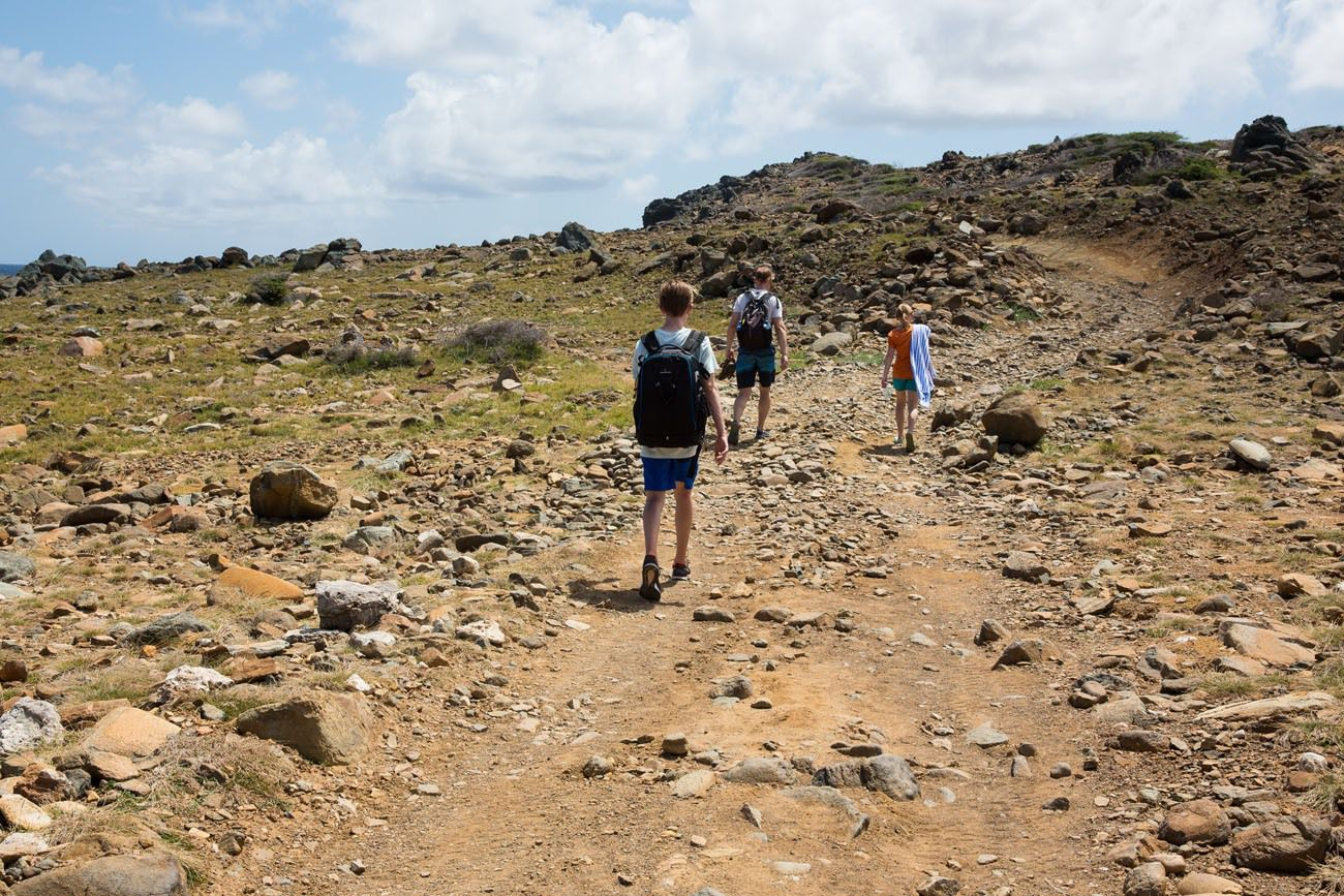 Hiking Aruba