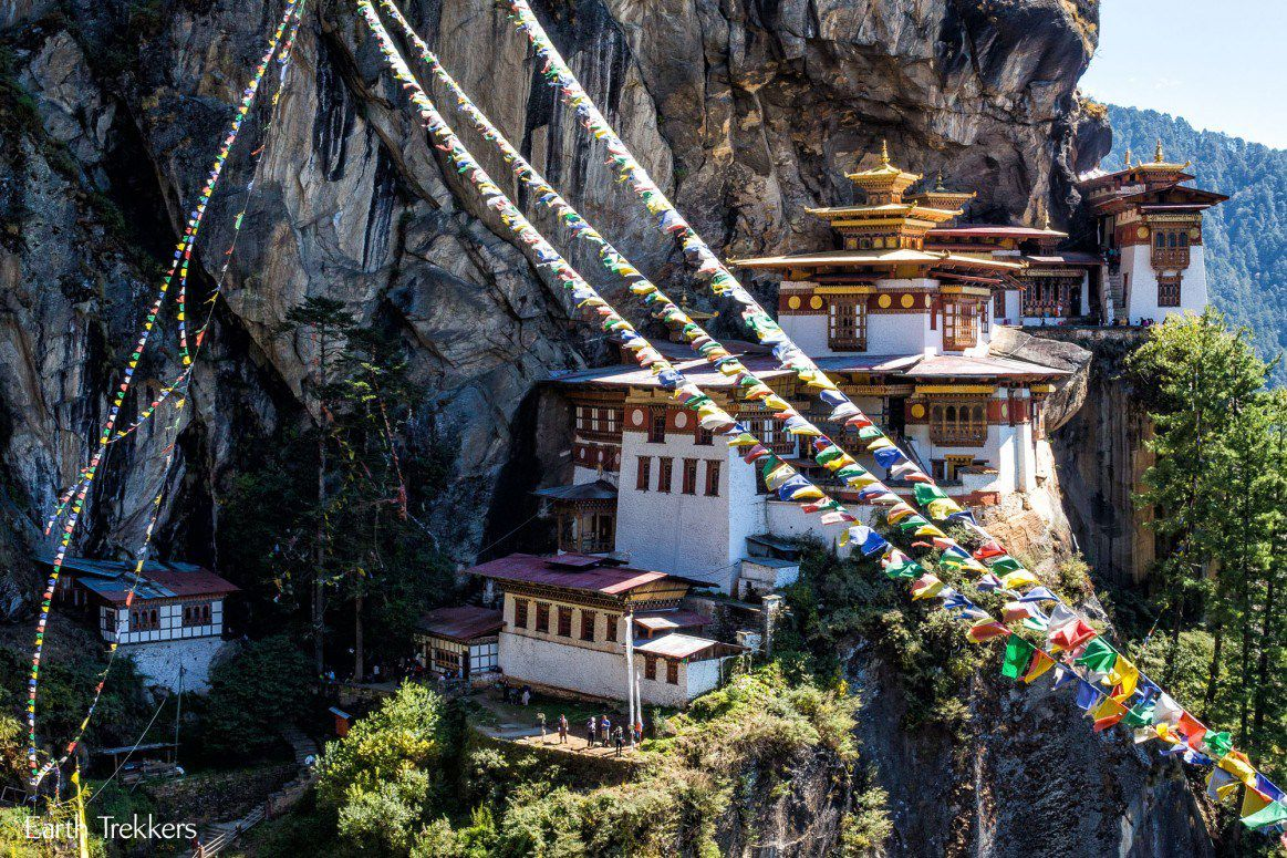 Hiking to Tigers Nest Bhutan