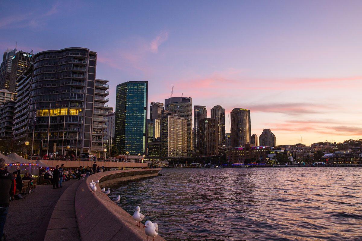 Last night in Sydney