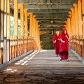 Monks on the Bridge