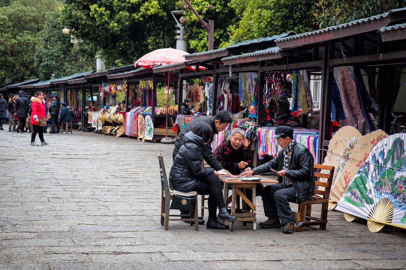 Playing Cards Yangshuo