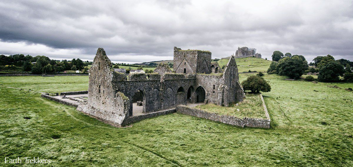 Rock of Cashel Drone