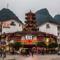 Street Corner in China