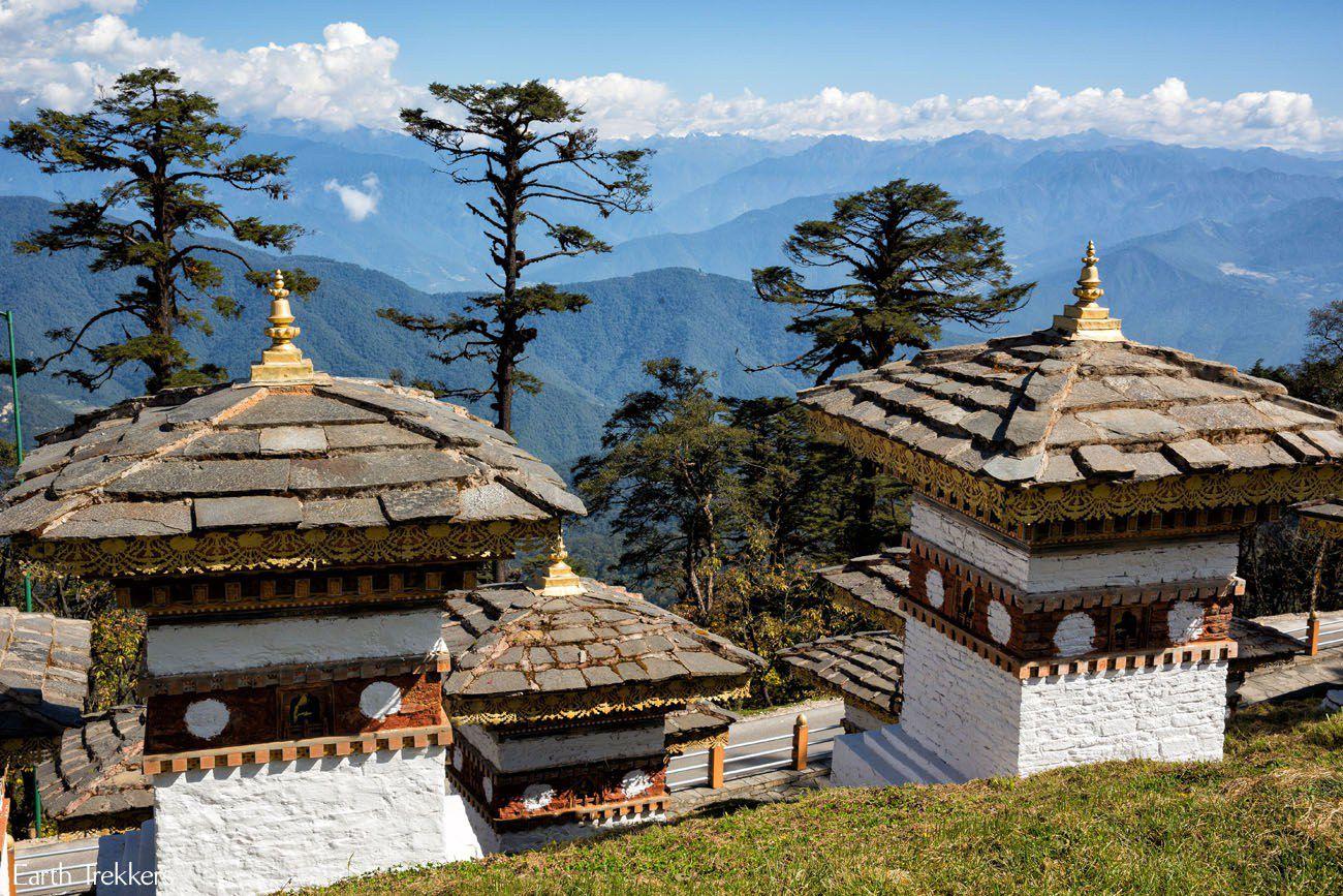 Stupas in Bhutan