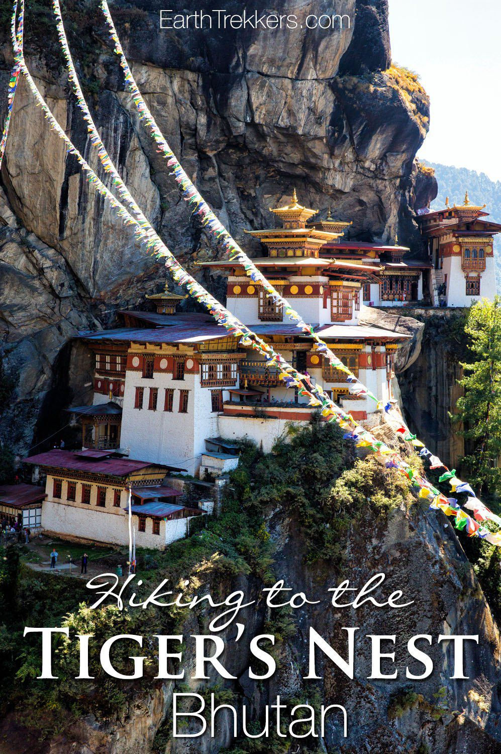 Tiger's Nest (Paro Takstang) hike in Bhutan. #bhutan #tigersnest #hiking #adventuretravel