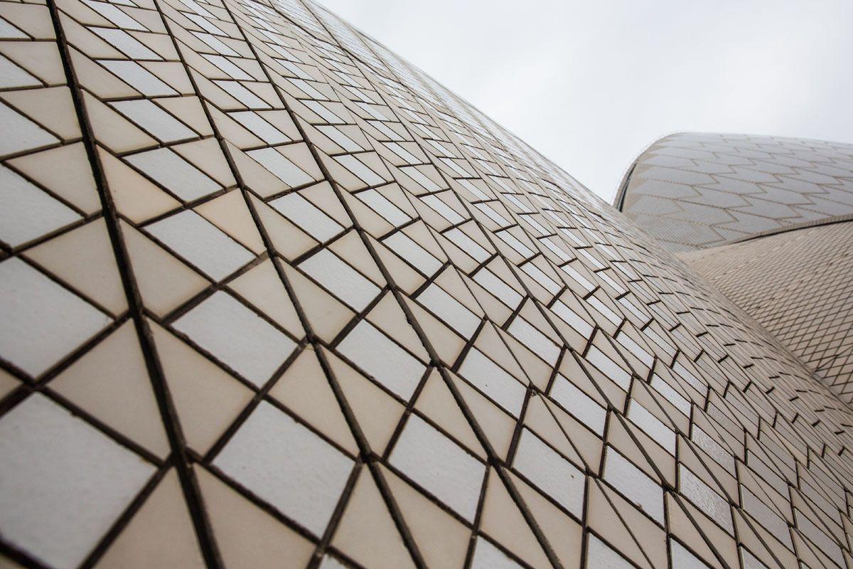 Tiles on Opera House