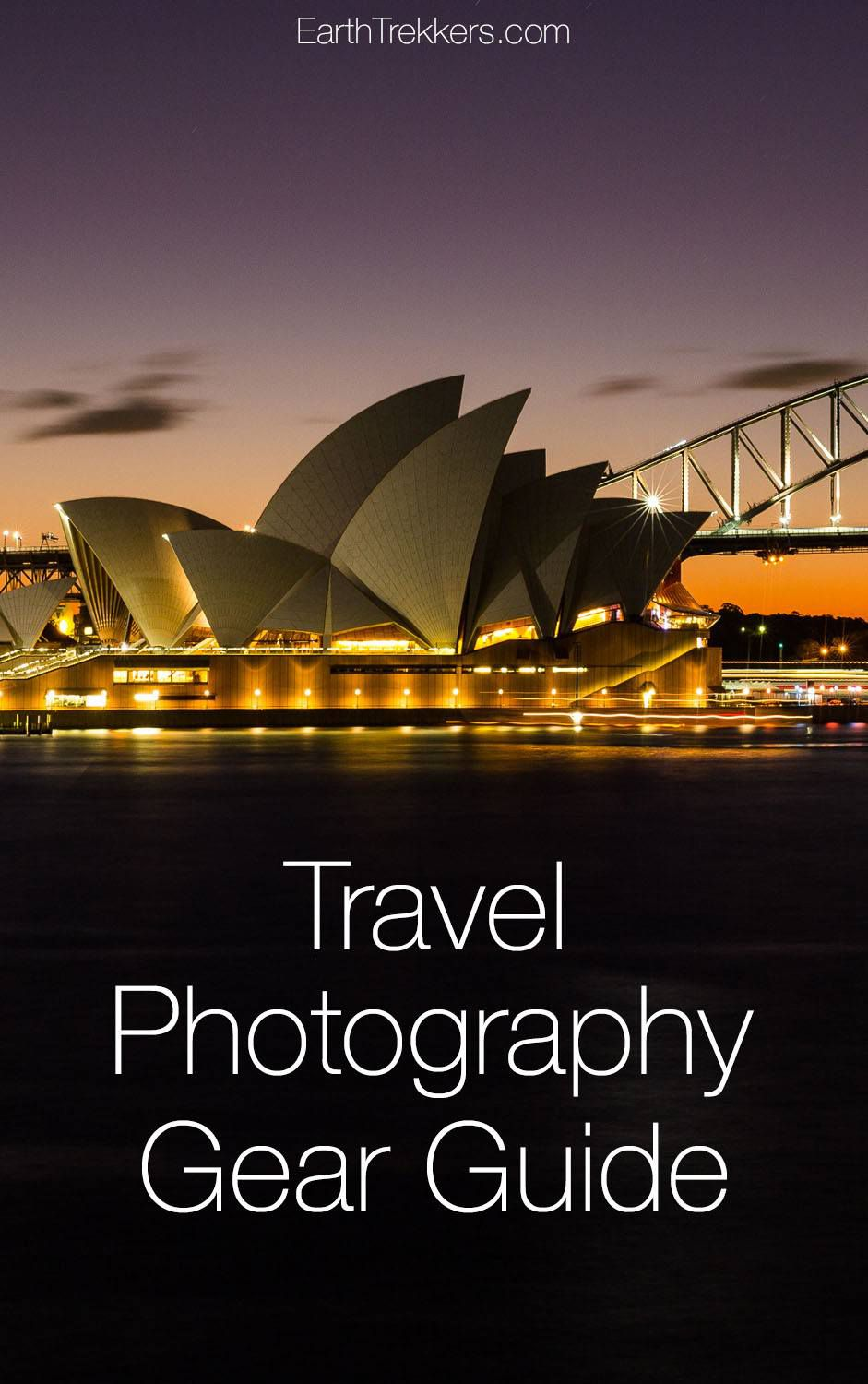 Travel photography gear guide. The camera and accessories we use when we travel.