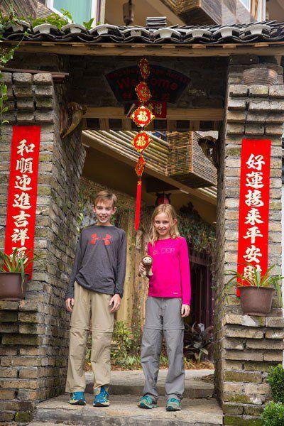 Tyler and Kara China