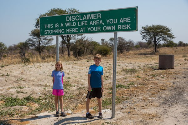 Wildlife Disclaimer