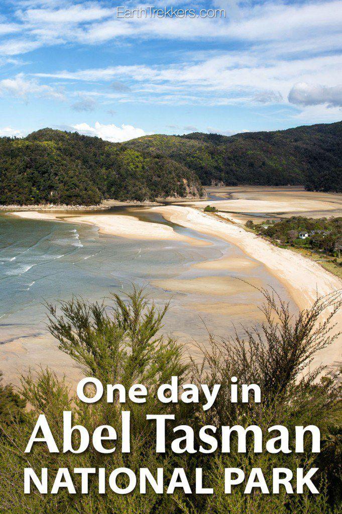 Abel Tasman One Day Itinerary
