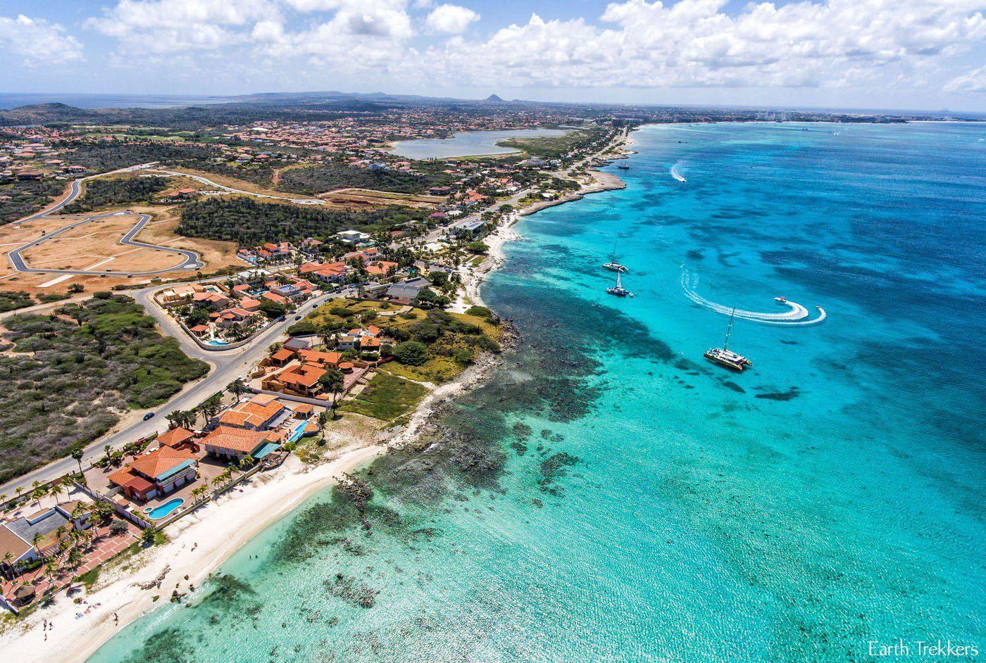 Aruba Drone Photo