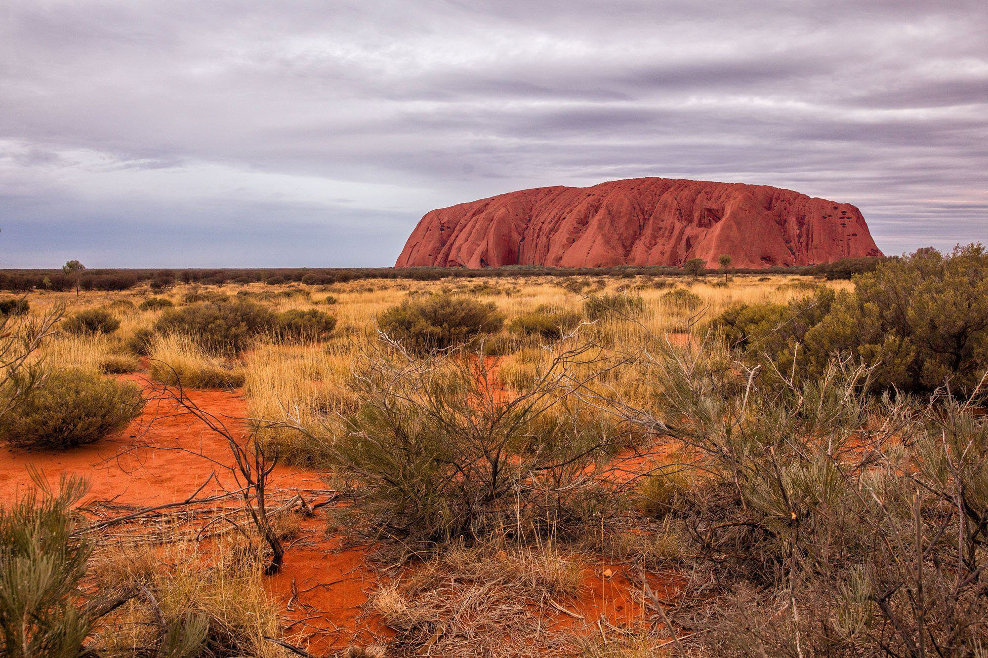 journey to the red center of australia