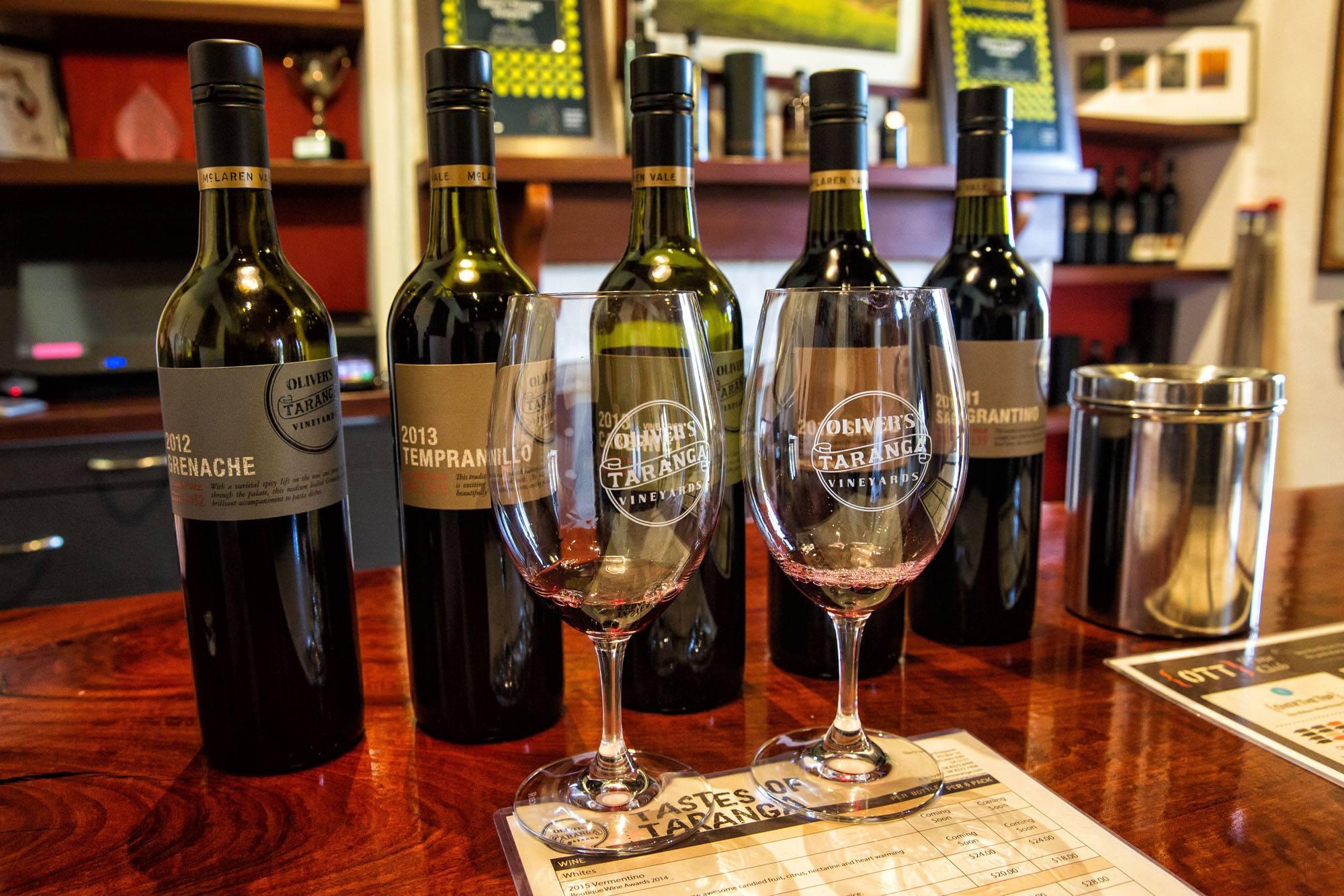 Australia Wine Tasting