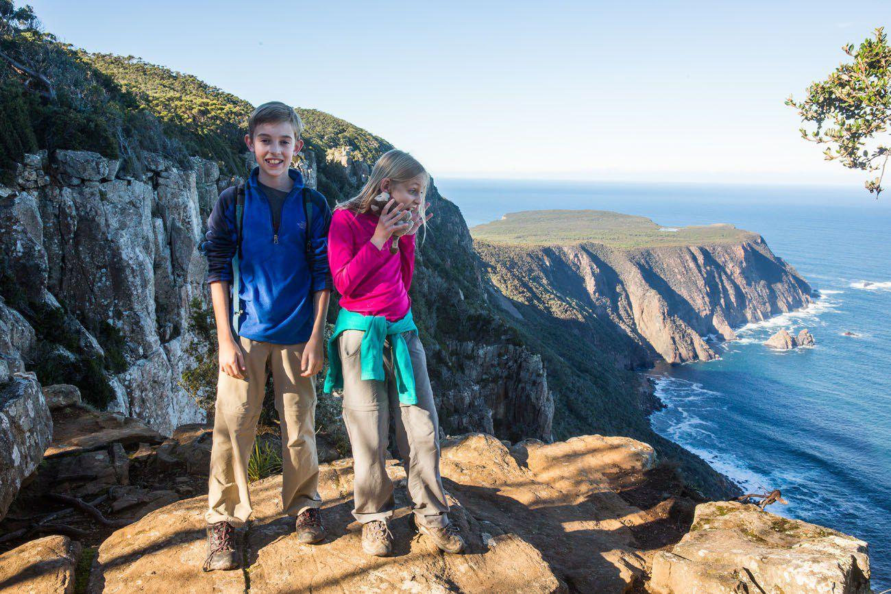 Cape Raoul kids