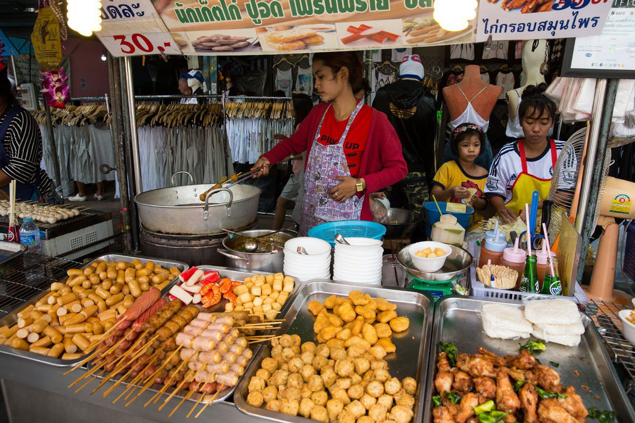 Chatuchak Food Stand