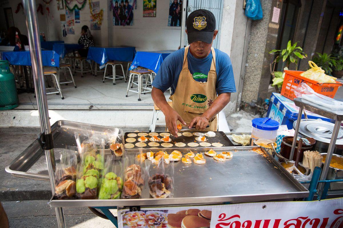 Cooking Street Food Bangkok