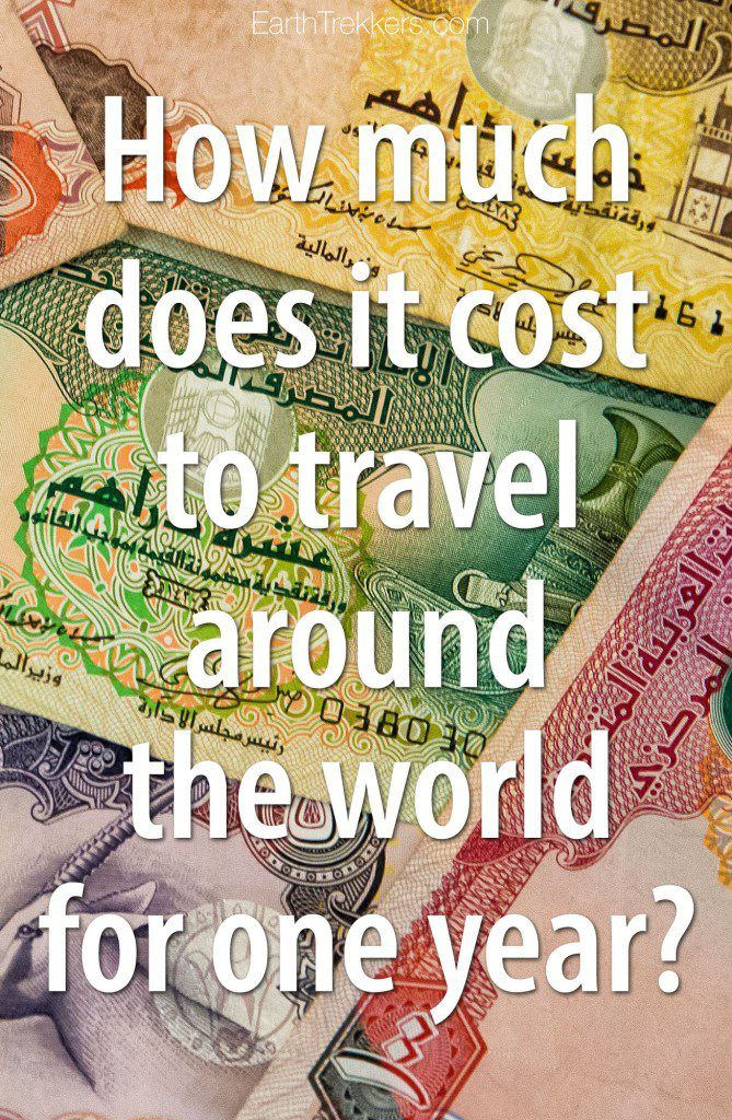 Cost to travel around the world