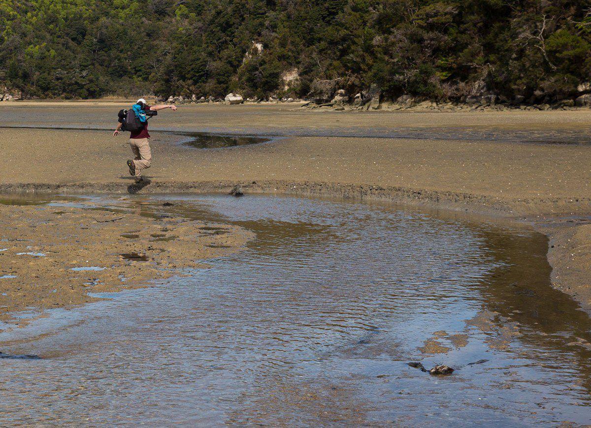 Crossing Torrent Bay
