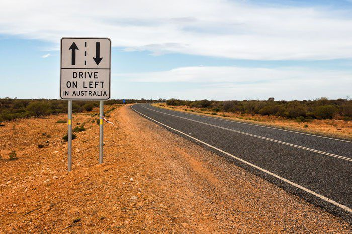 Drive on the Left Australia