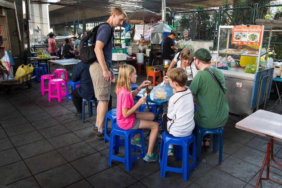 Eating Street Food Bangkok