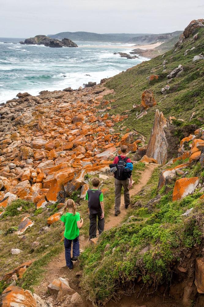 Hiking Robberg Peninsula