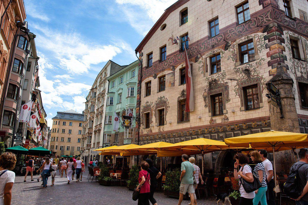 Innsbruck in August