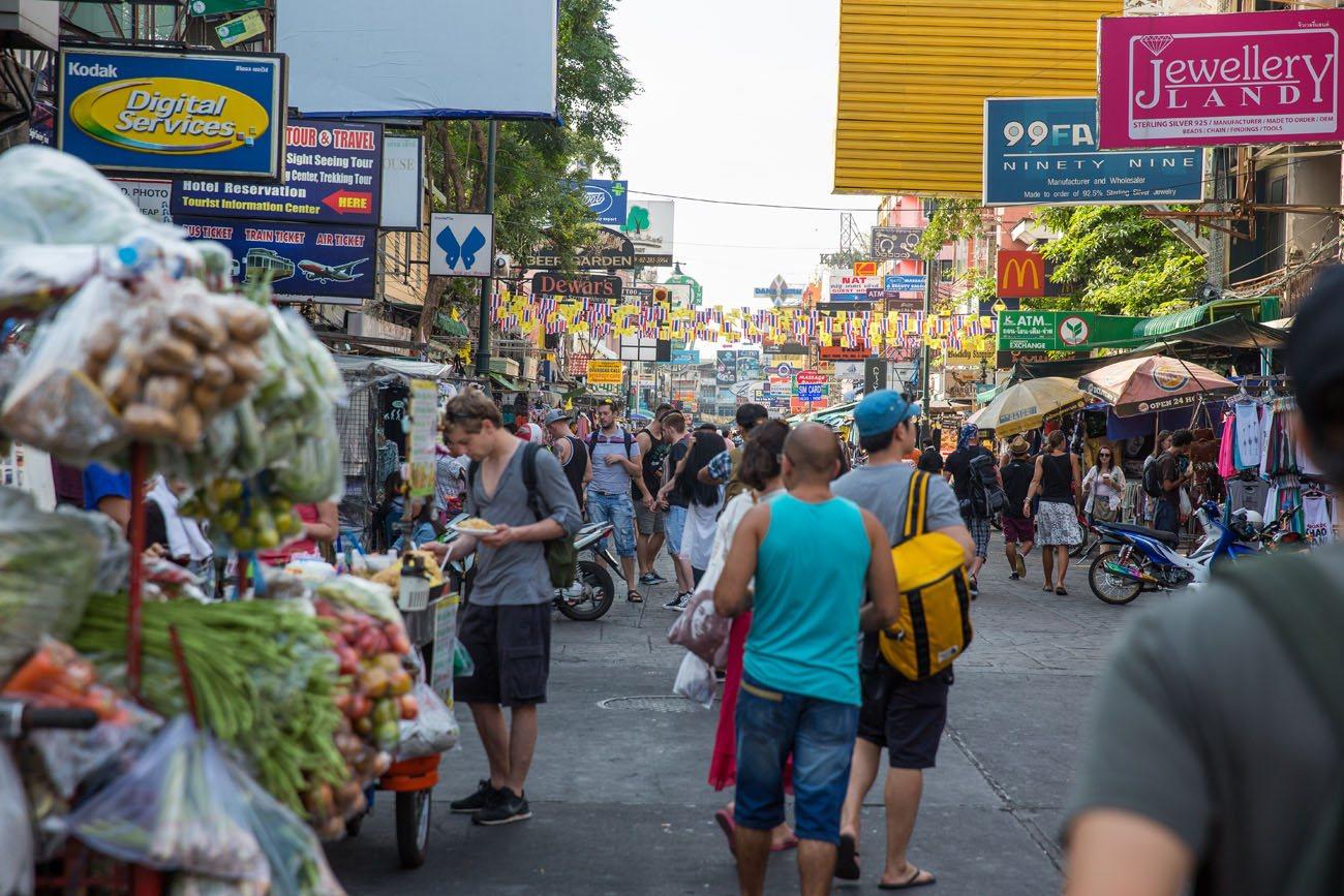 Khao San Road - Wikivoyage, guida turistica di viaggio
