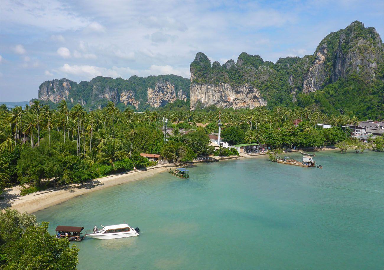 Krabi Rock Climbing View