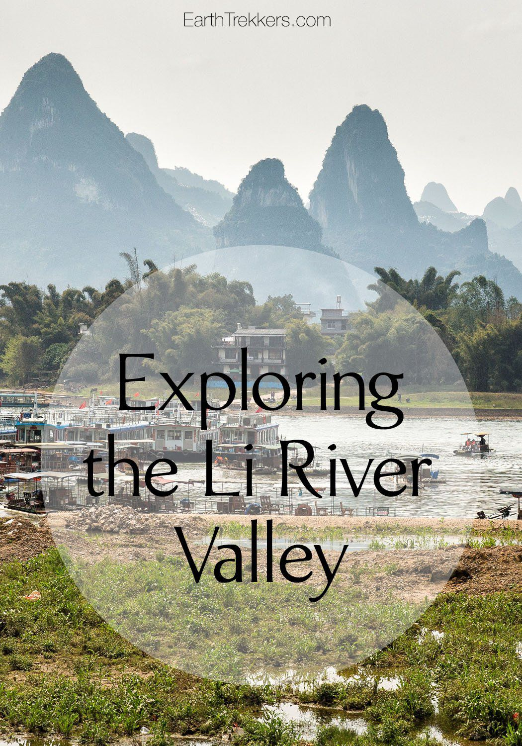 Li River Valley Yangshuo China