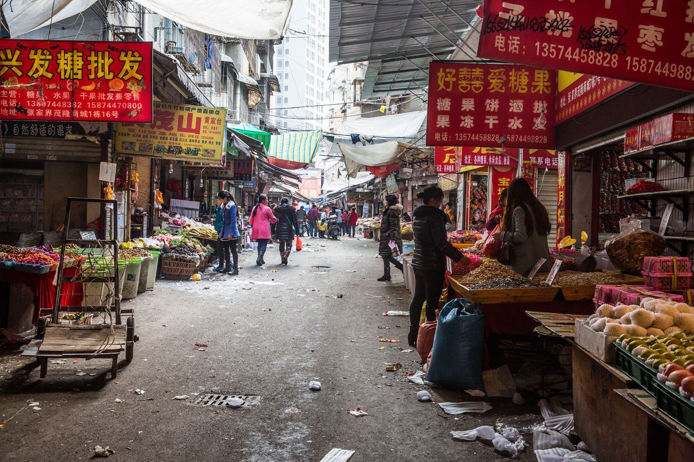 Market in China